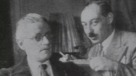 James Joyce and Paul Léon