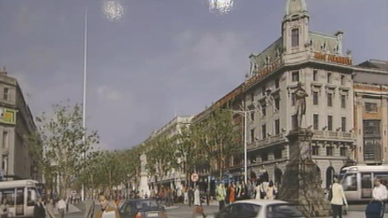 Plans for The Spire on Dublin's O'Connell Street (2002)