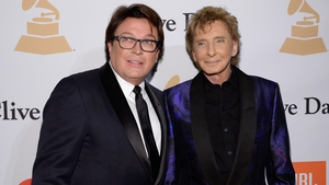 Barry Manilow and his husband Garry Kief