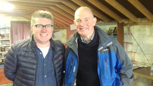 Record holders Pat Shortt and Patrick Shavley.