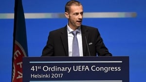 Aleksandar Ceferin is talking up the prospect of a salary cap