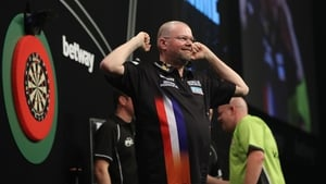 Raymond van Barneveld takes on Phil Taylor and  James Wade in Dublin
