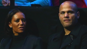 "Mel B and Stephen Belafonte (pictured in London in November 2014) - His legal team claims there has been a ""false depiction"" of their marriage"