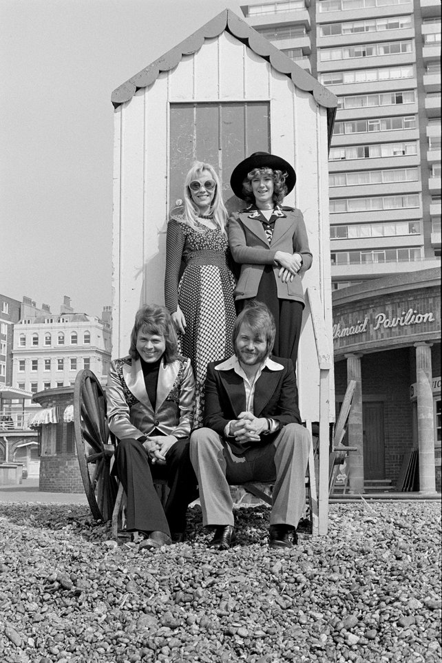 ABBA on Brighton Beach (1974)
