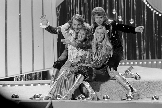 ABBA win the Eurovision Song Contest (1974)