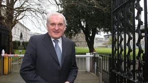 Bertie Ahern stood down as taoiseach in 2008