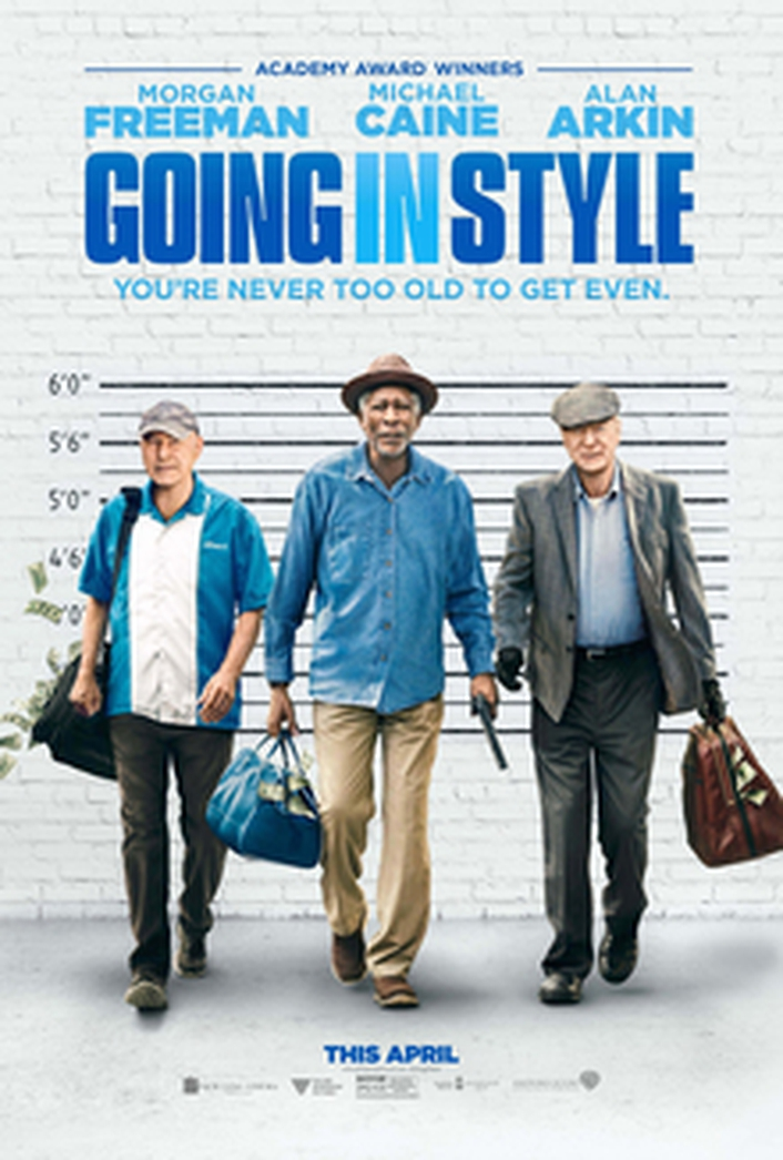 """Going In Style"" stars Michael Caine and Morgan Freeman"