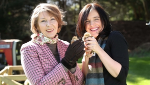 Big Week on the Farm hosts Aine Lawlor and Ella McSweeney