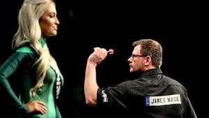 James Wade lost the first game to Michael van Gerwen