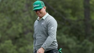 Charley Hoffman leads after the first round of the Masters