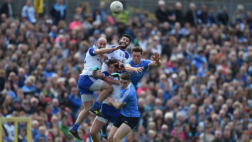 Division 1 champions Dublin travel to Clones for their opening game