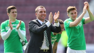 Brendan Rodgers sees his immedaite future at Parkhead
