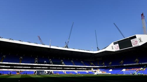 White Hart Lane is still not ready for football