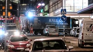 Five people were killed in the April attack