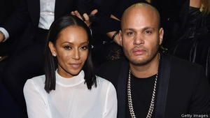 Mel B pcitured with her estranged husband Stephen Belafonte