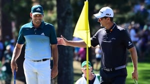 Sergio Garcia got the better of Justin Rose in what was an epic final round at Augusta