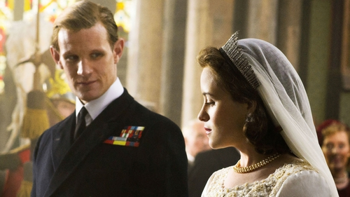 The Crown stars Claire Foy and Matt Smith tease second season of the show