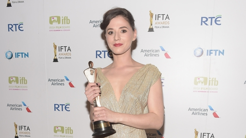 Charlie talks to RTÉ Entertainment at the IFTAs