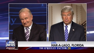 Alec Baldwin plays Bill O'Reilly and Donald Trump for new Saturday Night Live sketch