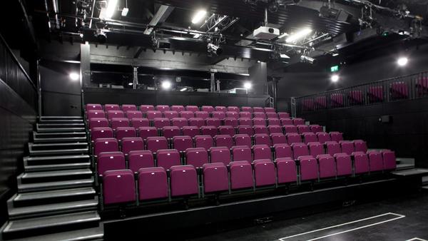 The centre has a 120-seat theatre