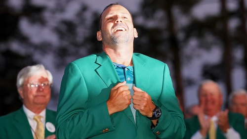 Sergio Garcia: 'I think both on and off the golf course it has been a unique and unbelievable year.'