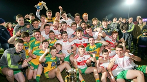 Donegal toast their Ulster success at the Athletic Grounds