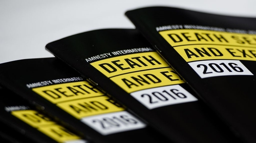 Booklets by Amnesty International entitled 'Death Sentence and Execution'