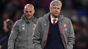 Arsene Wenger is under pressure as Gunners boss