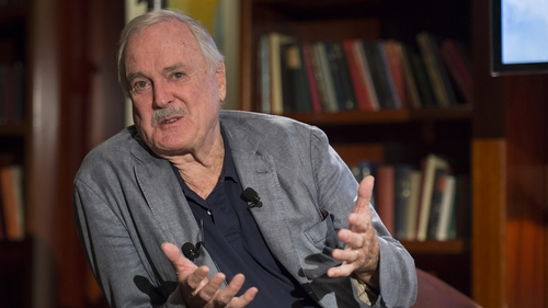 """John Cleese - """"These are the most enjoyable scripts I've been sent in the last 100 years"""""""