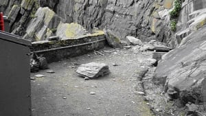 First rockfall was discovered last Friday