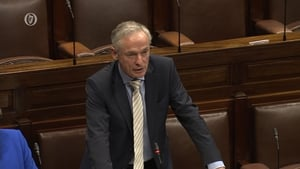 Richard Bruton addressing the Private Member's debate