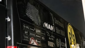 The Borussia Dortmund bus was attacked on 11 April
