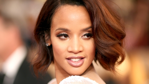 Dascha Polanco attended The 22nd Annual Screen Actors Guild Awards in a stunning white gown in January 2016.
