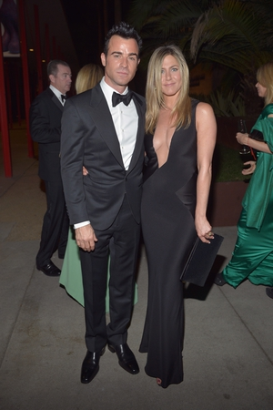The beautiful couple at the Los Angeles County Museum of Art Art + Film Gala in 2012. Jennifer is wearing a Tom Ford dress with a plunging neckline. Gorgeous.