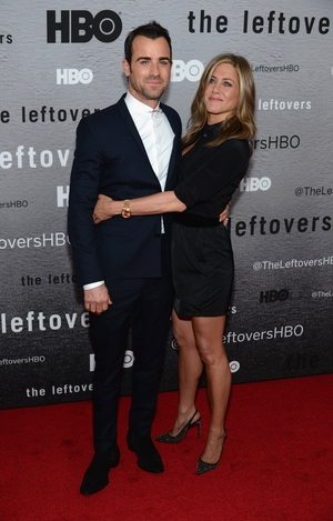 Jen looked proud as punch of hubby at the 'The Leftovers' TV series Premiere. He also looked rather handsome in that Dior suit!