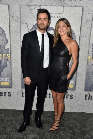 Trendy couple alert! This Brandon Maxwell dress made a splash at Justin's 'The Leftovers' TV series Premiere this year!