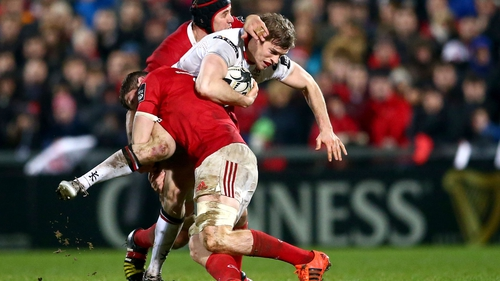 Andrew Trimble is expecting a physical encounter against Munster