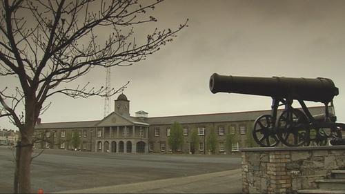 Cathal Brugha army barracks in Rathmines, Dublin
