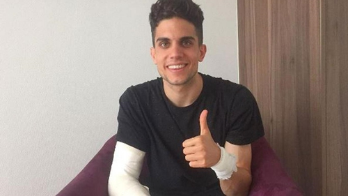 Marc Bartra is on the mend following surgery