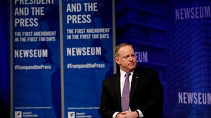 Sean Spicer said he had let the President down
