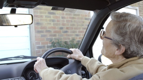 Most older adults rely on cars for transport, as opposed to public transport