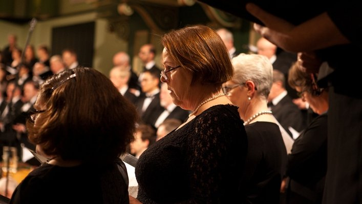 Hear Bach's St. Matthew Passion on Good Friday at 730pm