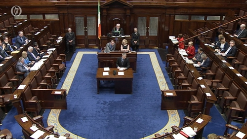 Frances Fitzgerald took Leaders' Questions in the Dáil