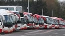 Bus Éireann's transport services were at a standstill for 21 days earlier this year