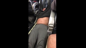 David Dao was hospitalised after Chicago aviation police dragged him from the plane