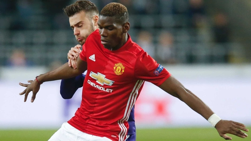 Pogba has been sidelined since September 12 after picking up a hamstring injury