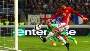 Henrik Mkhitaryan puts Manchester United ahead in Belgium