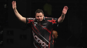 Adrian Lewis was in sizzling form at the Echo Arena