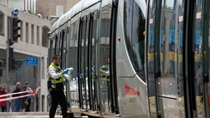 The incident happened on the city's light rail system