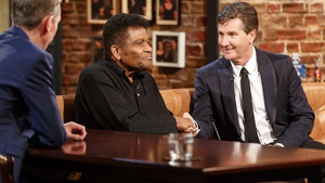 Charley Pride and Daniel O'Donnell on the Late Late Show Country Music Special in April 2017